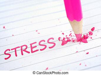 Stress word