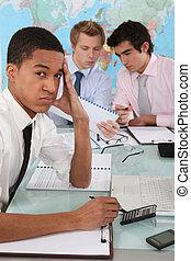 stressa, affärsverksamhet lag