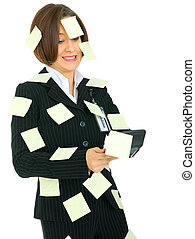 Stressed Accountant Holding Calculator