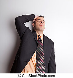Stressed Out Business Man