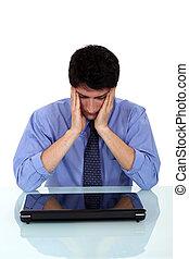 stressed-out, munkavállaló