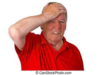 Stressed Senior
