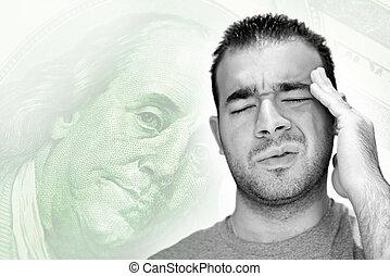 stressende, økonomi