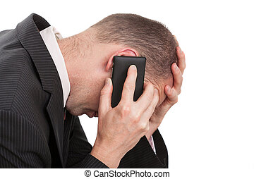 Stressful business conversation
