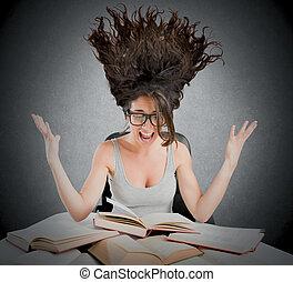 Stressful study books
