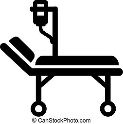 Stretcher ambulance bed