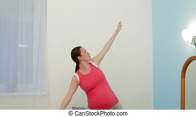 Stretching For Pregnant Woman