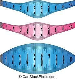 Stretching Measuring Tape