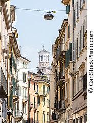 stretta, vicolo,  Verona
