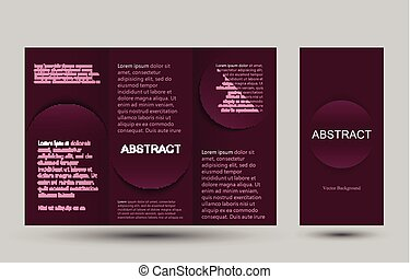 Strict simple design templates collection for banners, flyers, placards and posters.