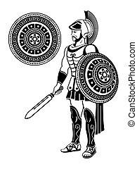 strijder, romein