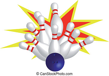 Strike - Bowling with strike