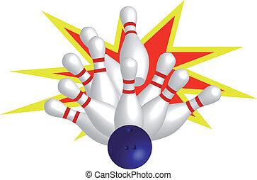 Strike - Bowling with strike