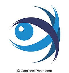 Striking eye illustration. - Striking eye illustration ...