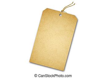 string., addre, cadeau, coût, vente, attaché, étiquette,...