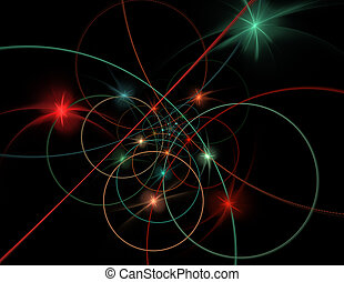 String theory. Physical processes and quantum entanglement...