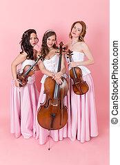 String trio portrait