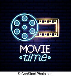movie time neon