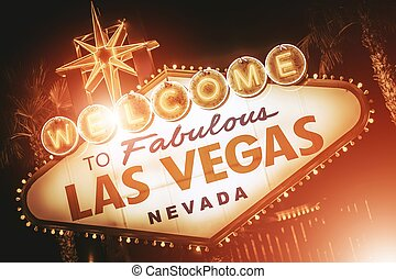 Strip Sign of Las Vegas