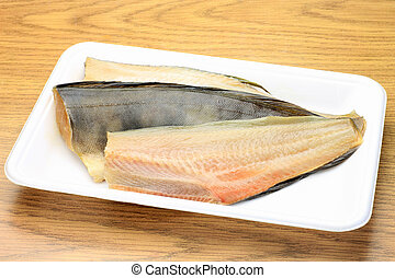 stripe atka mackerel - This is Japanese food with a stripe ...