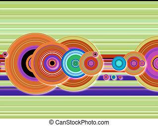 stripe crop circle techno - A collection of techno multi...