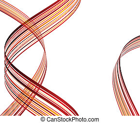 Striped abstract background. Vector illustration.