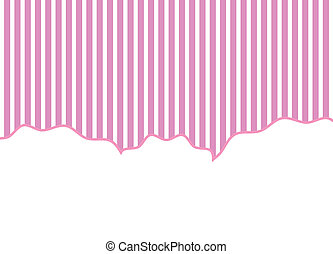 striped background pink and white