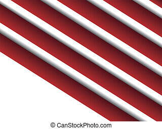 Striped background - Striped red and white background with...