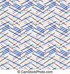 Striped chevron vintage pattern