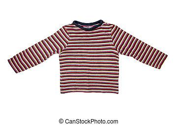 striped children's pullover