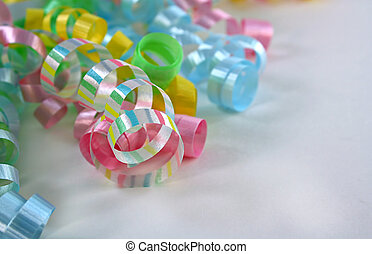 Striped Curling Ribbons