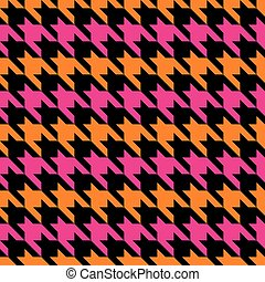 Striped Houndstooth