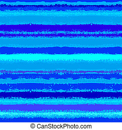 Striped pattern inspired by sea waves in blue