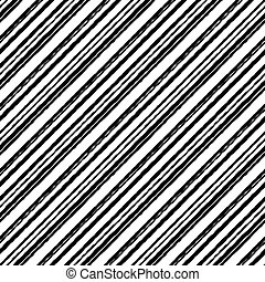 Striped pattern white rough grunge seamless black color