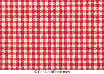 striped seamless tablecloth retro - Red and white striped...