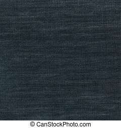 Striped textured blue jeans denim linen fabric background