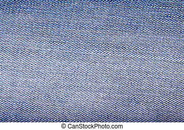 Striped textured blue used jeans