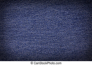 Striped textured used blue jeans