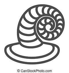 Striped witch hat line icon. Pointed wizard hat vector illustration isolated on white. Halloween costume outline style design, designed for web and app. Eps 10.