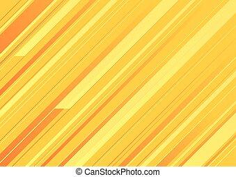 stripes., 抽象的, 黄色の背景