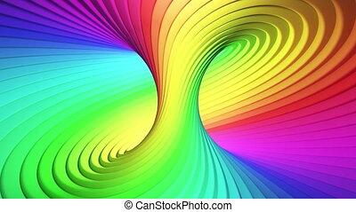 stripes., coloré, seamless, hypnotique, looping.