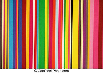 stripes, och, färger