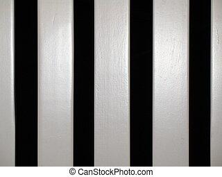 stripes - rocking chair slats - black and white stripes,...