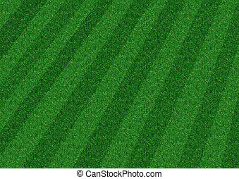 Stripped Lawn - Grass Background