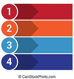 strips arrows points 4