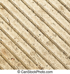 strips on concrete