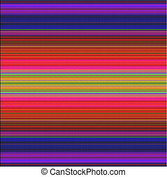strisce, colorito, struttura