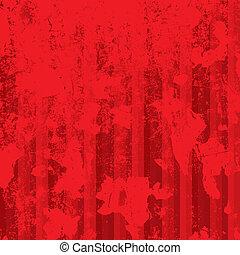 strisce, sfondo rosso