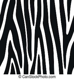 strisce zebra, modello, 3, seamless