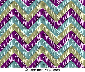 strisce, zigzag, fondo